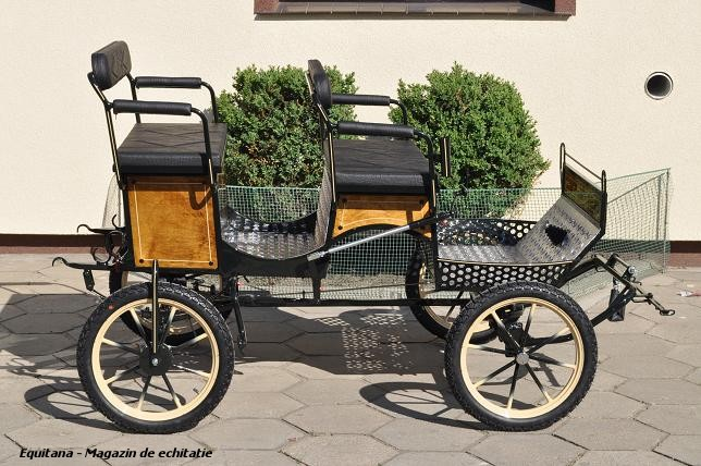 DE VANZARE –  TRASURA PONEI (Jagdwagen), Ideala pentru Welsh Pony