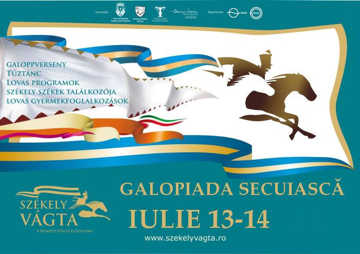 GALOPIADA SECUIASCA, 13 - 14 IULIE 2013, COMUNA MOACSA, JUDETUL COVASNA