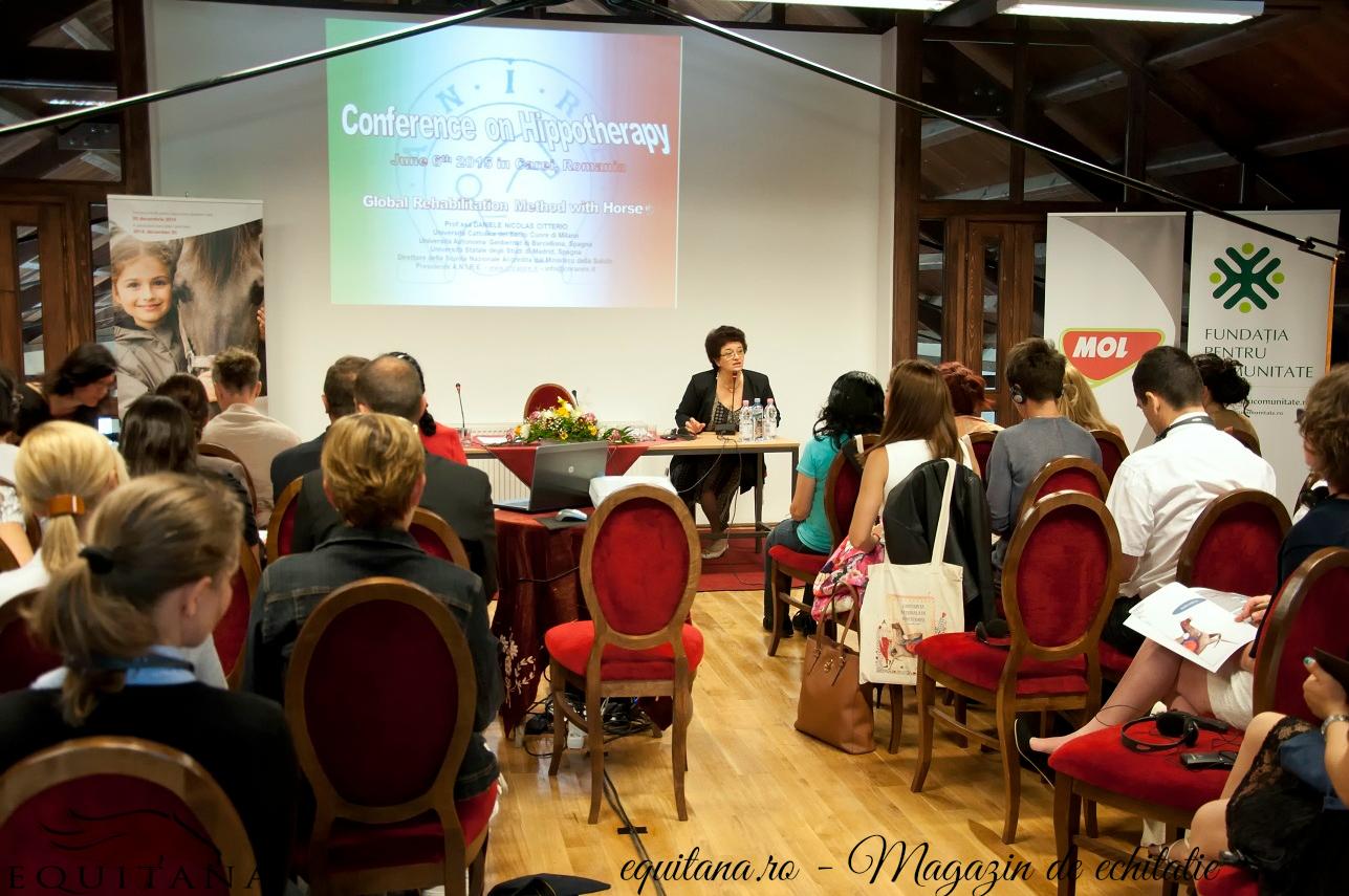 Prima conferință națională de hipoterapie
