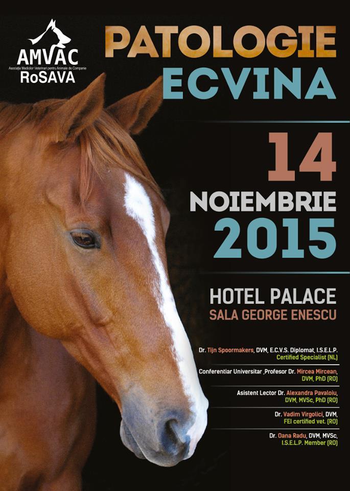 Patologie ecvină în cadrul congresului veterinar de la Sinaia