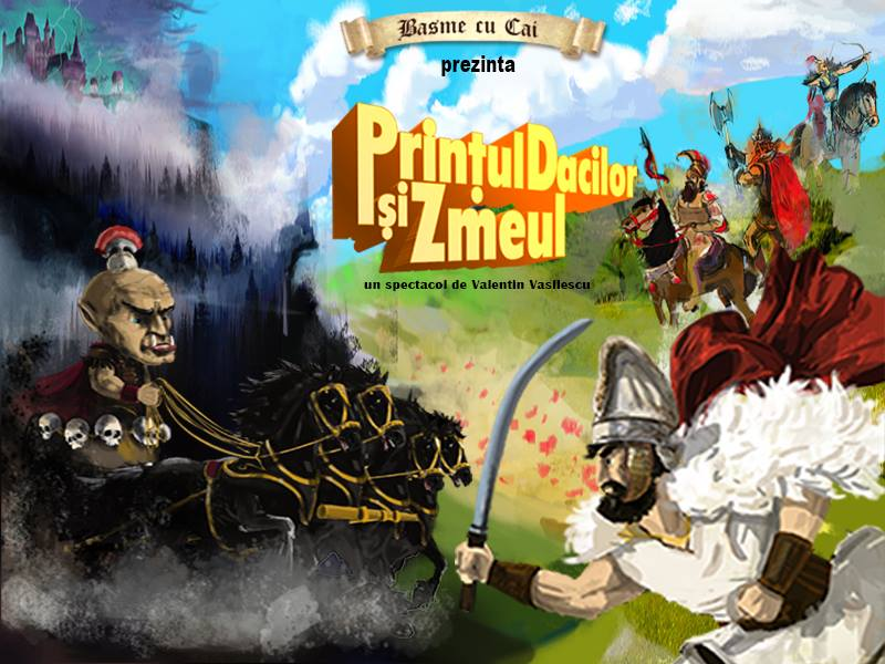 """Premiera """" Prinţul Dacilor şi Zmeul"""""""