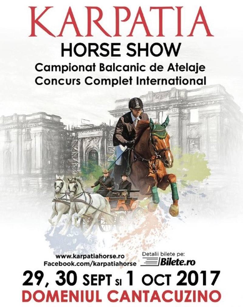KARPATIA HORSE SHOW 2017: PASIUNEA PENTRU ECHITAŢIE, REGĂSIREA ELEGANŢEI