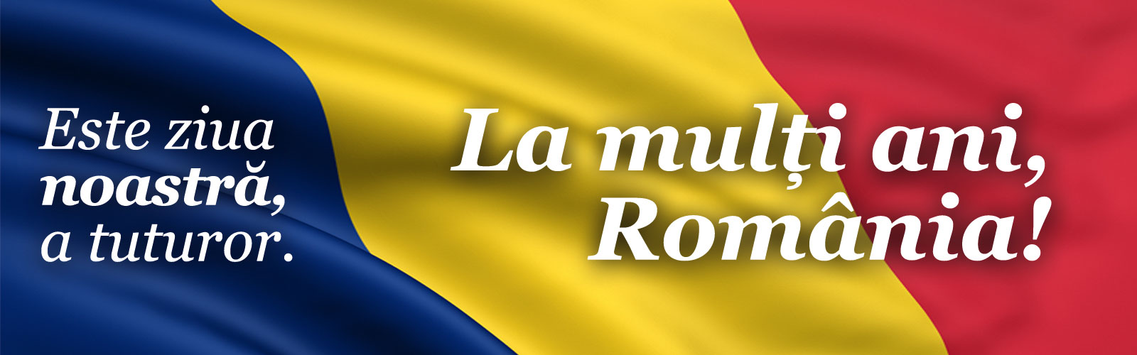 Program 1 Decembrie: La mulți ani, România!