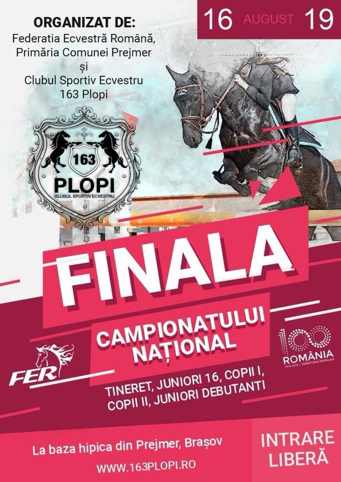 Finalele de Campionat Național, Prejmer, județul Brașov