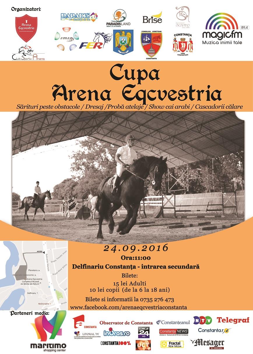 Cupa Arena Eqcvestria, 24 Septembrie 2016, Constanța