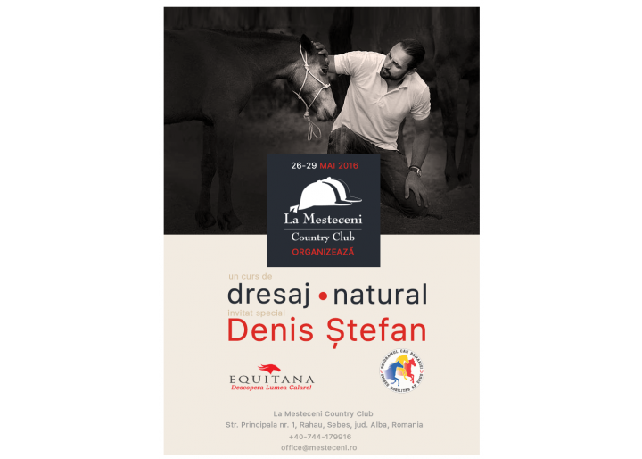 "Workshop de dresaj natural la Country Club ""La Mesteceni"""