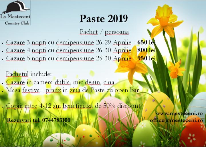 "Sărbători Pascale la Country Club ""La Mesteceni"", Rarău, jud. Alba"
