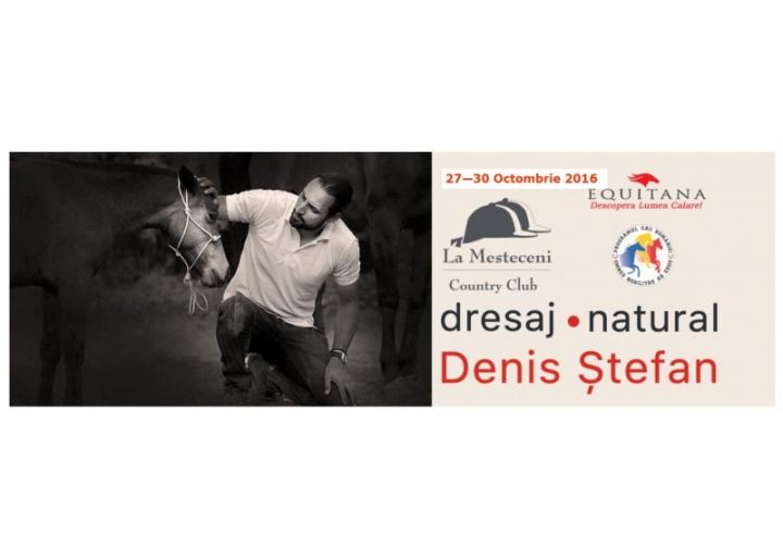 Workshop dresaj natural cu Denis Stefan la Country Club La Mesteceni