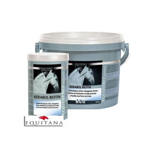 Supliment nutritiv copite si blana, Kerabol Biotin, 1000 g, Equistro-1072