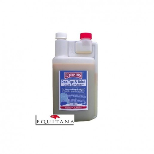 Supliment lichid pentru musculatura, Dee-Tye & Drink, Equimins -1092