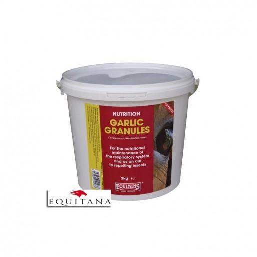 Usturoi pur, granulat, Nutrition Garlic Granules, Equimins-1098