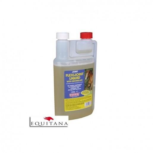Supliment lichid pentru cartilaje Flexijoint, cu Bromelaina, Flexijoint Liquid with Bromelain, Equimins -2015