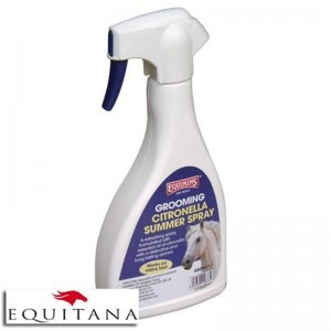 Spray revigorant pentru ingrijire Grooming Citronella Summer Spray Equimins