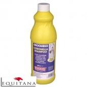 Sampon cu citronela si balsam pentru cai deschisi la culoare Equimins