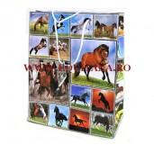 Punga mare de cadouri cu cai